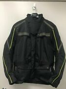 Black Triumph Endeavour Jacket-new With Tags Size Large Mtps 14115-l