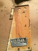 Farmall 656 Tractor Right Front Hood Side Emblem Panel