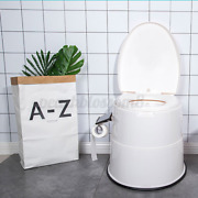 Large Portable Toilet Seat Travel Camping Hiking Outdoor Indoor Potty Commode