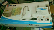 Moen Essie Touchless Single-handle Pulldown Sprayer Kitchen Faucet In Spot Resis