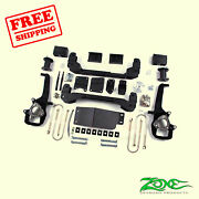 4 Front And Rear Suspension Lift Kit For Dodge Ram 1500 4wd 2006-2008 Zone