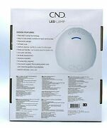 Cnd Professional Uv Led Light Lamp Shellac Gel Nail Dryer Brand New Authentic