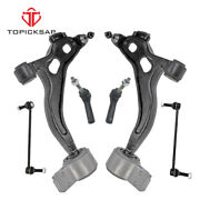 6 Pcs Front Lower Lh Rh Control Arm Assembly For Ford Flex 2010 - 2012 Awd/fwd