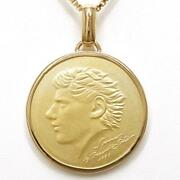 Jewelry 18k Yellow Gold Necklace About24.3g Free Shipping Used