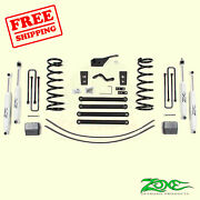5 F And R Suspension Lift Kit For Dodge Ram 2500 4wd Gas/diesel 2000-02 Zone