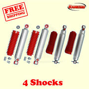Rs9000xl Frontandrear 4 Lift Shocks For Chevy Tahoe 4wd 1995-2000 Kit 4 Rancho