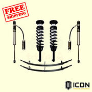 0-3.5 Lift Kit - Stage 2 For Toyota Tacoma 2005-2014 Icon