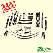 4.5 F And R Suspension Lift Kit Fits Jeep Cherokee Chrysler 4wd Gas 84-01 Zone