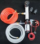 Boat Pump Out With Holding Tank Flush System For Diy Into Home Sewer