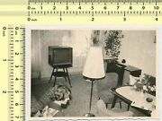 Interior Lamp In Room Tv Woman Out Of Frame Bad Crop Abstract Scene Old Photo
