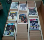 O-pee-chee Hockey Cards 1988-89 5000 Count Of Singles From Vendor Case