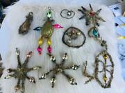 Lot Of 10 Antique Christmas Ornaments
