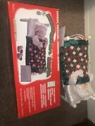 Telco Motionettes Sleeping Mrs Santa Claus Animated Snoring Christmas Tested