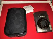 Rare Canon Elph Sd900 Coach Edition Camera Kit Store Inventory Reduction