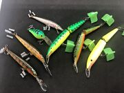 Lot Of 7 Rapala J-13 And More Rare Colors