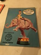 Vintage Ringling Bros And Barnum And Bailey Circus Program 1958