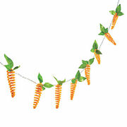 Easter Carrot String Lights Decoration String Is 70 1/2