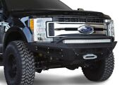 Addictive Desert Designs For 17-18 Ford F-250 Honeybadger Front Bumper W/ Winch