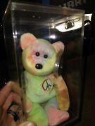 Peace Ty Beanie Baby ..best Condition Cheapest Seen Same Item Sold Here 20000