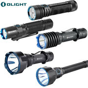 Olight Torch Rechargeable Tactical Flashlight Magnetic Usb Charge Edc Handheld