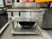 Commercial Falcon Dominator Plus Natural Gas Chargrill On Fixed Stand