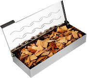 Universal Stainless Steel Smoker Box Wood Chip Bbq For Charcoal And Gas Grill