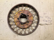 Vintage 19andrdquo Wire Wheel. 1928 Studebaker Dictator. Other Vintage Cars.