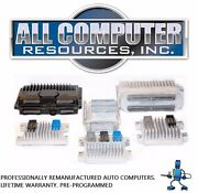 1999 2000 2001 2002 Cadillac Escalade Esv Ext Ecu Pcm Ecm Engine Computer Reman