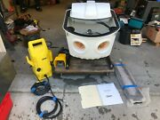 Stratasys Objet Water Jet 3d Printer Parts Washer With Foot Pedal And Karcher Pump