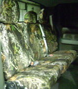 Hatchie Bottom 2011-12 Ford F150 Custom Seat Cover Cloth Duck Commander D48221c