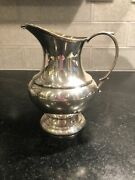 Reed And Barton Sterling The Pilgrim Creamer Pitcher From The Tea Set