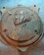 George Washington Macerated Us Currency Souvenir Medal, Paper Signed 1874-'42