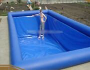 Diy Inflatable Heavy Duty Tpu And Pvc Inground Koi Pond Swimming Pool Liner New