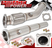 Stainless Racing Exhaust Turbo Downpipe For 99-05 Vw Jetta Beetle Golf Gti 1.8t