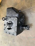 New Holland Ford 9030 Tractor Transmission Range Box 3 Speed Engine