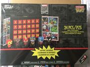 Sealed Funko Marvel 80 Years 24 Pc Advent Calendar Gamestop And Sorter 43686gs