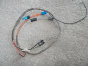 Dash Clock Wiring Harness 69 Camaro Rs Wire Loom And Gas Tank Sending Wire Z/28