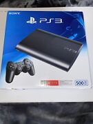 Sony Playstation 3 Super Slim 500gb Console Cech-4301c Unopened Factory Sealed