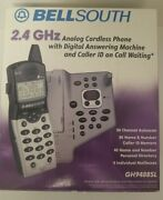 Bellsouth 2.4 Ghz Cordless Phone. Call I.d. Call Waiting