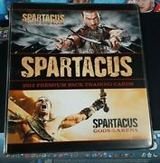 Rittenhouse Spartacus Blood And Sand/gods Of The Arena Card Album Binder