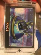 Topps Skylanders Giants Trading Card Kaos Very Raregreat Find For Portal Master