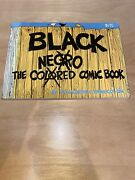 The Black Comic Book Paperback 1970 By Ernie Colon Sid Jacobson Negro Colored