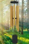 Wind Chimes For Outside Deep Tone, 42 Inch Large Wind Chimes Outdoor Wood Color