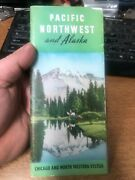 Pacific Northwest And Alaska Chicago And North Western System Travel Brochure Rare