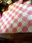 Antique Old Red And White Quilt Hand Made For A Four Poster Bed  70 X 90