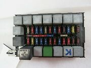 Ferrari 348 Spider, Passenger Footwell Fuse Box Assembly, Used, P/n 154898