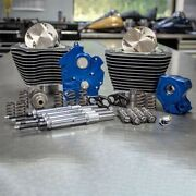 Sands M8 Power Package 124 Water Cooled Chain Drive Highlighted Fins Chrome Tubes