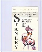 1992 Stanley Cup Finals Game 1 Ticket Chicago Blackhawks Pittsburgh Penguins Rr