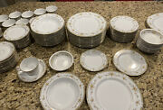 Mikasa Romi Fine China Setsetting For 12with Platters
