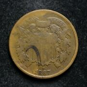 1867 Two Cent Piece Bb6456